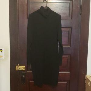 VS turtleneck sweater dress